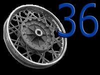 36 Räder