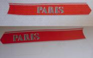 Dekorsatz Paris  2-teilig links und rechts