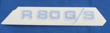 R 80 G/S Aufkleber l.oder R . blau/weiß
